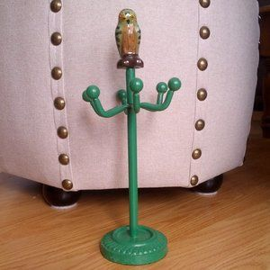 Urban Outfitters Painted Owl Jewelry Stand